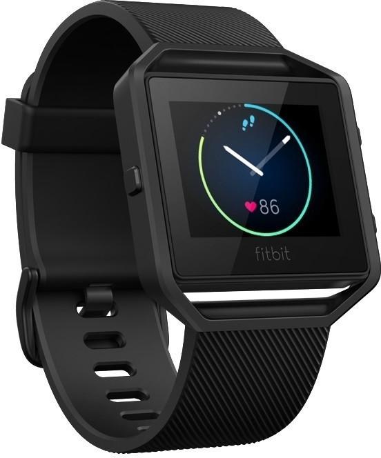Vorschaubild von Fitbit Blaze schwarz / gunmetal S