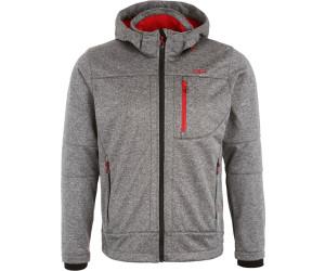 Cmp herren softshell jacke zip hood 3a01787n