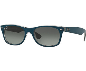 Ray-Ban New Wayfarer RB 2132 6191/71 Sonnenbrille in petroleum on grey 55/18 IjuYvipIoi