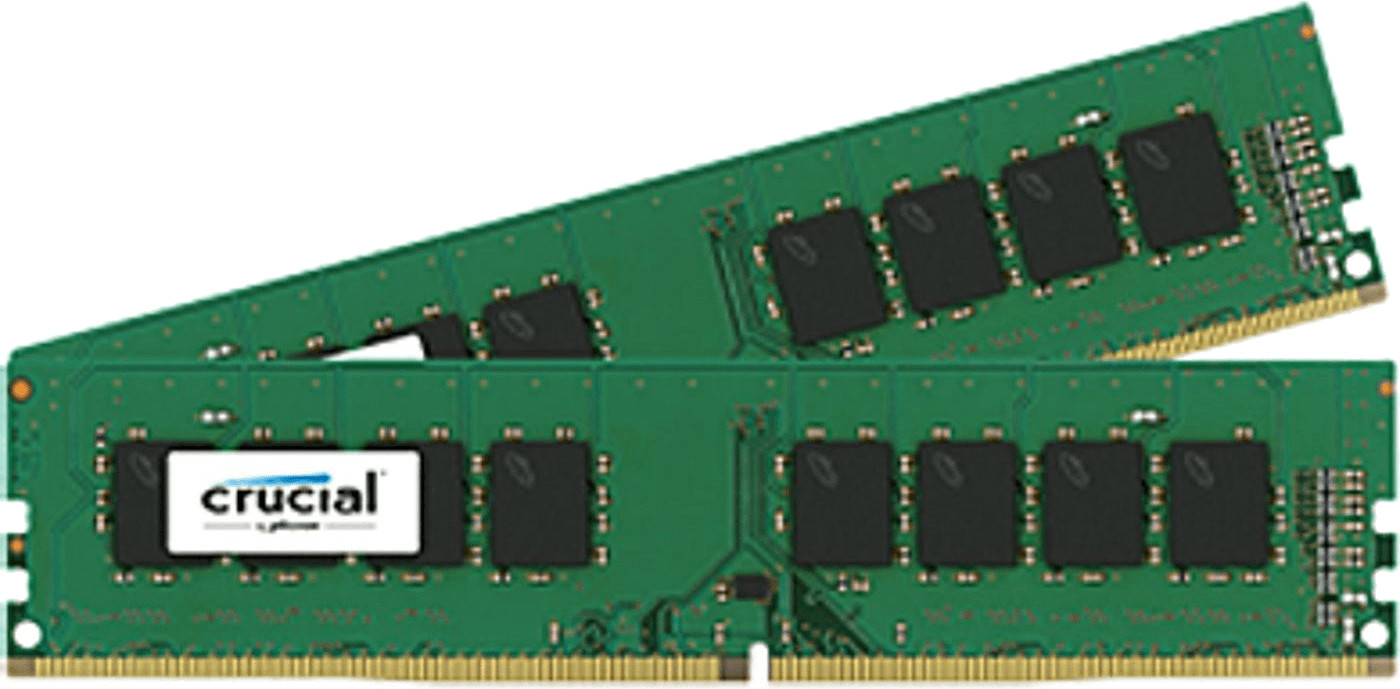 Image of Crucial 16GB Kit DDR4-2400 CL17 (CT2K8G4DFS824A)