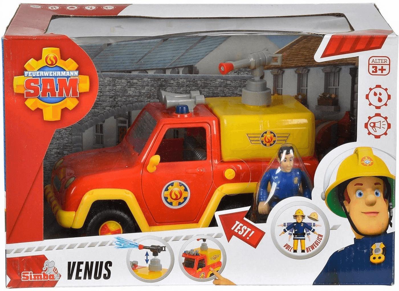 Simba Sam Feuerwehrauto Venus mit Figur