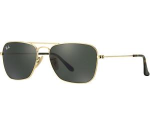 RAY BAN RAY-BAN Herren Sonnenbrille »CARAVAN RB3136«, goldfarben, 001 - gold/grün