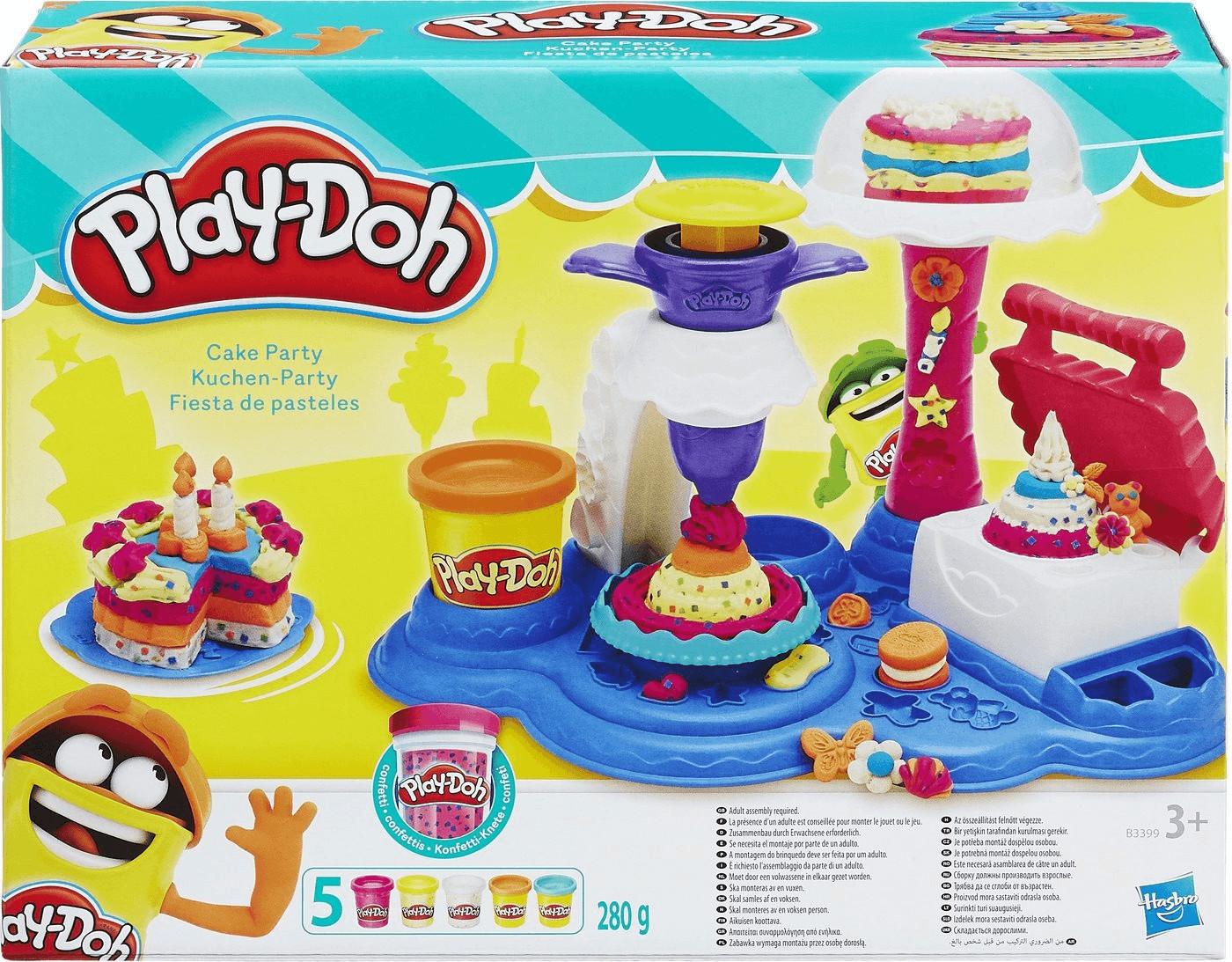 Play-Doh Kuchen-Party