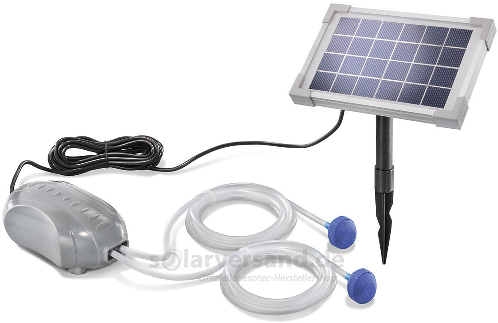 Esotec Duo-Air Solar-Teichbelüfter