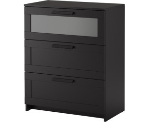 ikea brimnes kommode 3 schubladen ab 59 00 preisvergleich bei. Black Bedroom Furniture Sets. Home Design Ideas