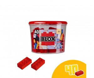 Simba Bausteine Blox 100 weiße 4er Steine in Dose