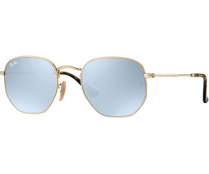 419c674b1b0 Ray-Ban Hexagonal Flat Lenses RB3548N 001 30 (gold silver flash) au ...