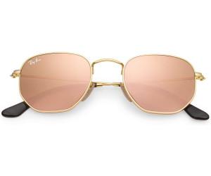 714077c334c58 Buy Ray-Ban Hexagonal Flat Lenses RB3548N 001 Z2 (gold copper flash ...
