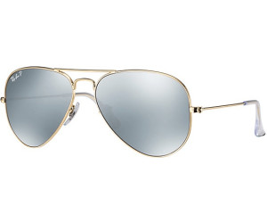 Ray Ban Ray-Ban Sonnenbrille »aviator Large Metal Rb3025«, Goldfarben, 112/w3 - Gold/silber