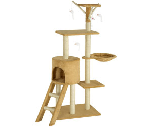 tectake kratzbaum dominik ab 29 99 preisvergleich bei. Black Bedroom Furniture Sets. Home Design Ideas