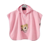 Morgenstern Badeponcho Rosa Hase Poncho Kapuzenbadetuch Frottee Cape f/ür Baby