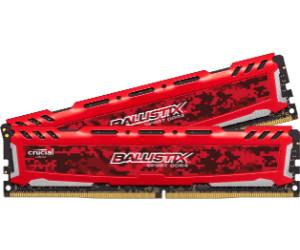 PC4-19200 Red DIMM 288-Pin DDR4 2400 MT//s Sport LT 8GB Kit 4GBx2