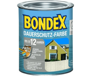 bondex dauerschutz farbe schwedenrot 0 75 l ab 11 91 preisvergleich bei. Black Bedroom Furniture Sets. Home Design Ideas
