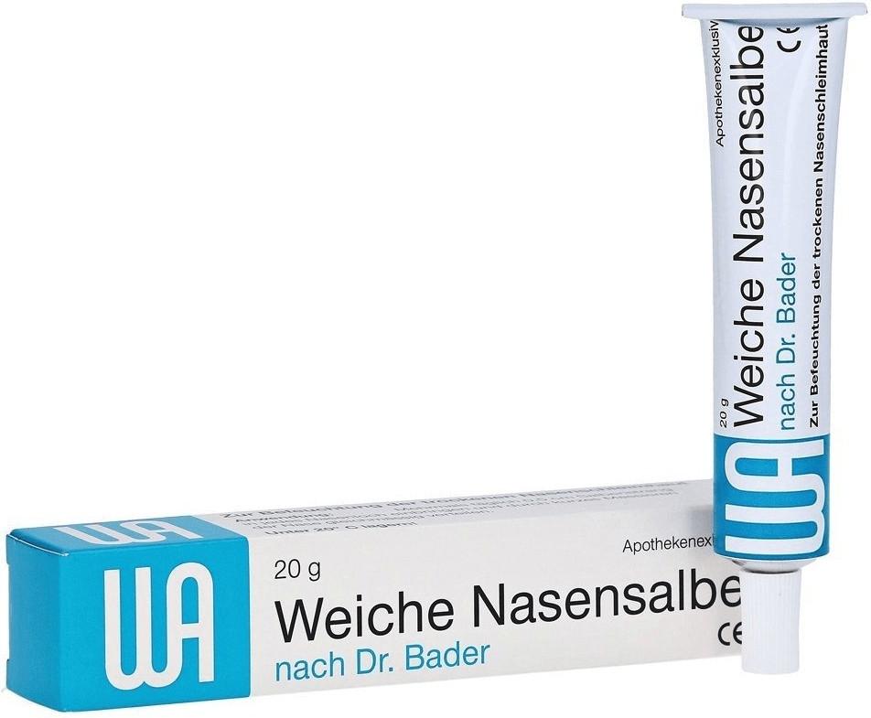 Weiche Nasensalbe n. Dr. Bader (20 g)