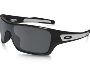 Oakley Sonnenbrille Turbine Rotor Black Iridium Polarized Granite Brillenfassung - Sportbrillen Ar6u7j8d,