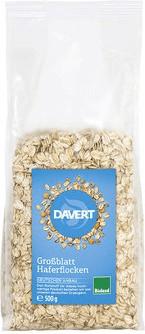 Davert Bio Großblatt Haferflocken (500g)