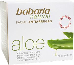 Babaria Babaria Aloe Vera Anti Falten Gesichtscreme (50ml)