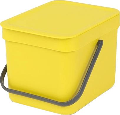 Brabantia Sort & Go 6 L gelb