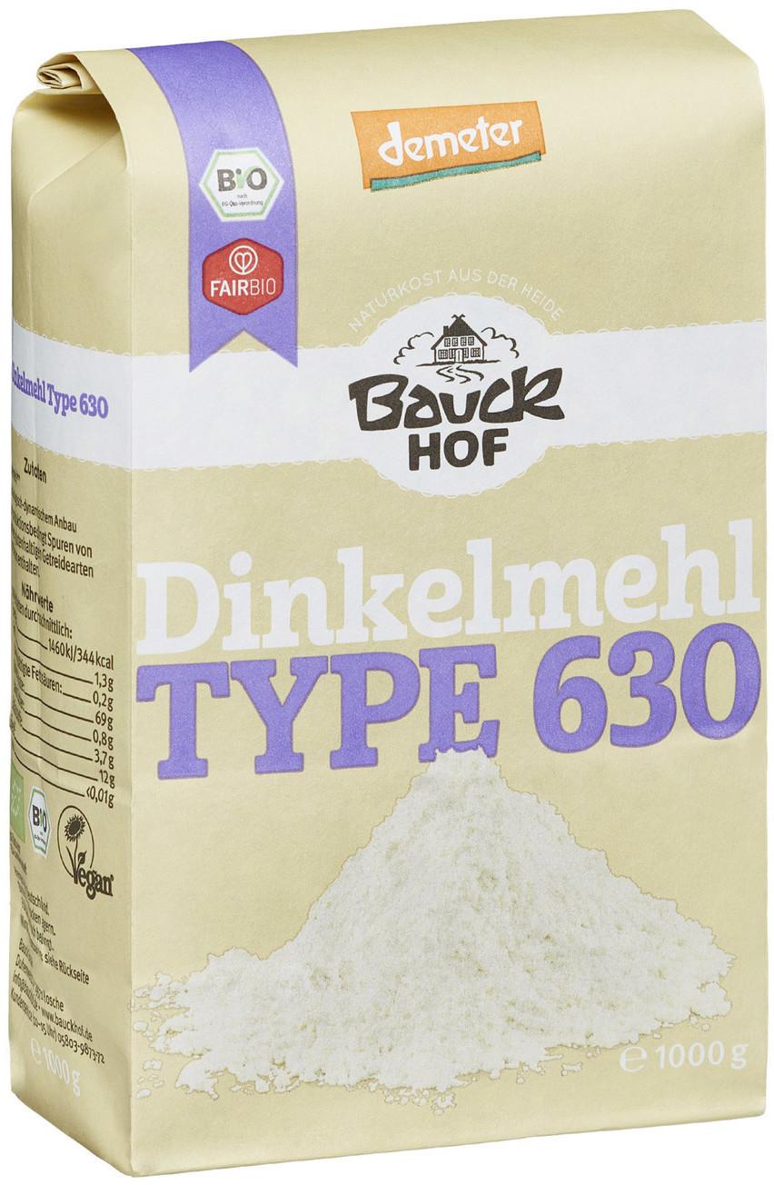 Bauckhof Dinkelmehl Type 630 (1000g)