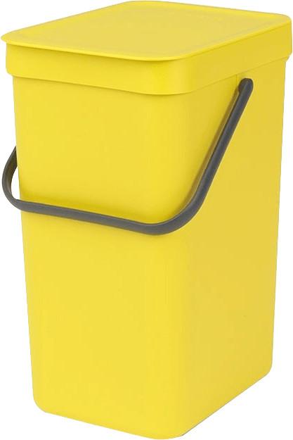 Brabantia Sort & Go 12 L gelb