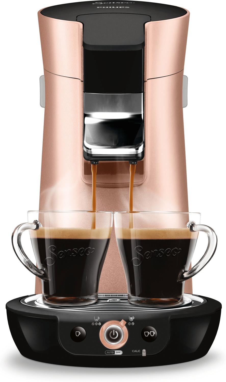 Philips Senseo Viva Café HD 7831/30 rosa Kupfer