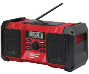 Milwaukee M18 Akku Netz Radio mit Ladefunktion M18 RC 0