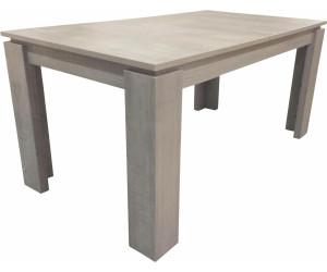trendteam esstisch beton 160x90cm ab 189 95. Black Bedroom Furniture Sets. Home Design Ideas
