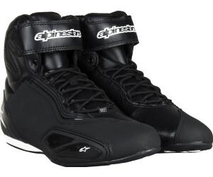 Alpinestars Faster Zapatillas color negro y blanco