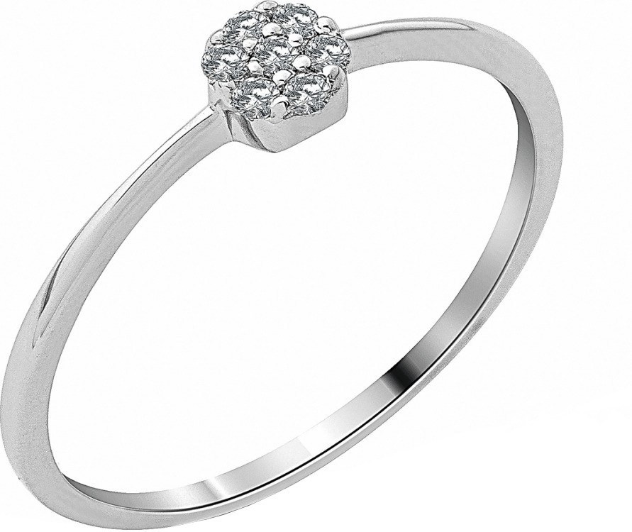 Miore White Gold Diamond Ring (SA983R)