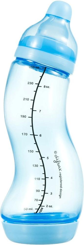difrax S-Flasche 250 ml Blau