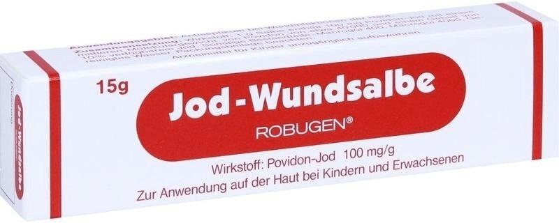 Jod Wundsalbe (15 g)