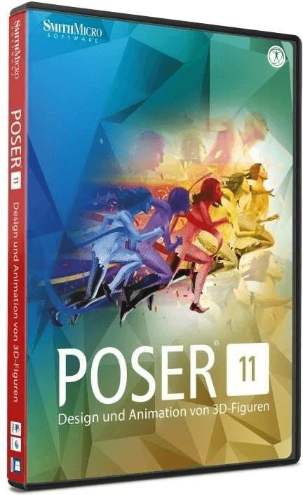 Smith Micro Software Poser 11 (DE) (Win/Mac)
