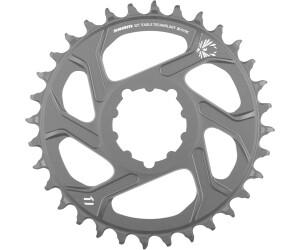Fahrradteile & -komponenten Kettenblätter SRAM MTB-Kettenblatt X01 Schwarz 34 Zähne
