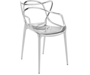 Kartell chaise masters chrome au meilleur prix sur for Chaise kartell masters
