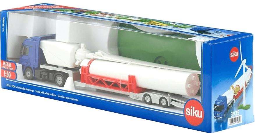 Siku LKW mit Windkraftanlage (3935)
