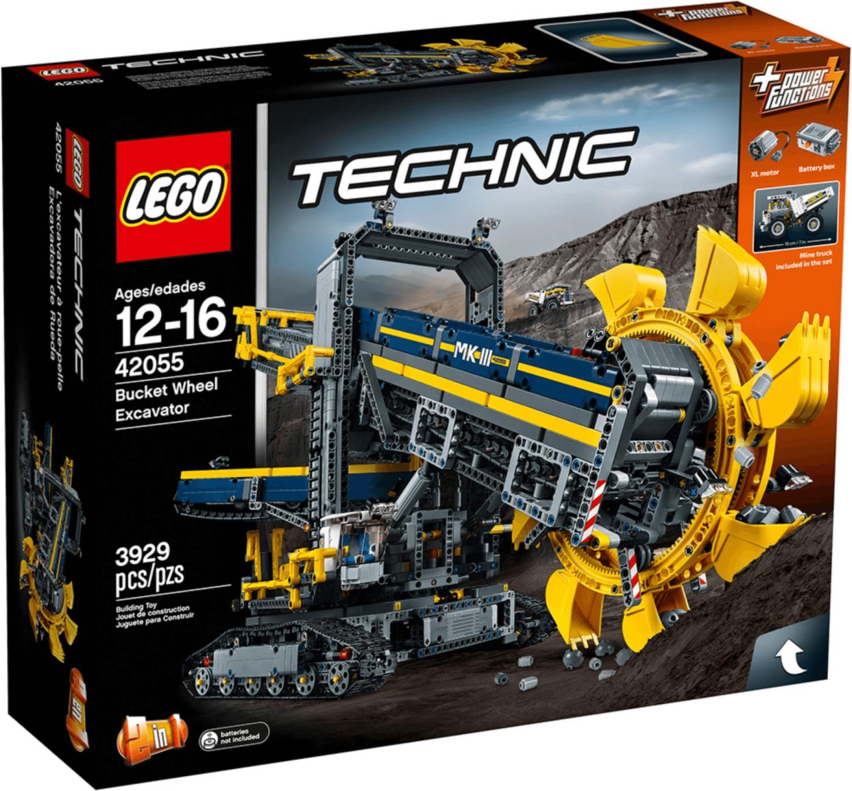 LEGO Technic - La pelleteuse à godets (42055)