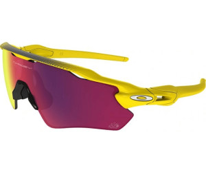 Oakley Sonnenbrille Radar EV Path Positive Red Iridium Polished Black Brillenfassung - Sportbrillen Xrts173wY,