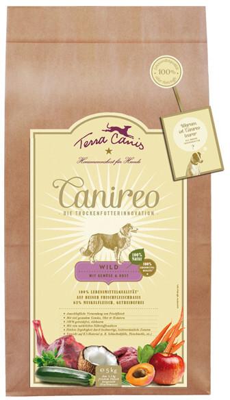 Terra Canis Canireo Wild mit Gemüse und Obst