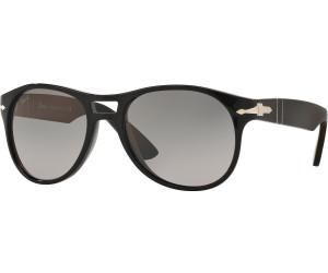PERSOL Persol Herren Sonnenbrille » PO3155S«, schwarz, 104258 - schwarz/grün