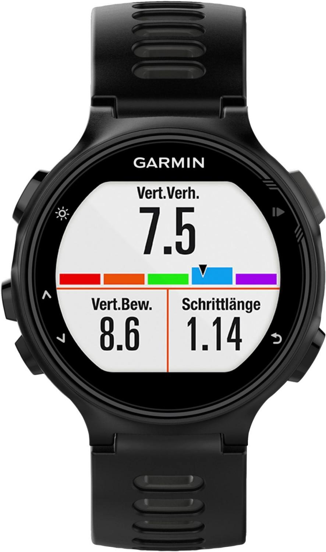 Garmin Forerunner 735XT Schwarz/Grau Einzelgerät