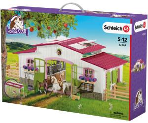 schleich reiterhof mit reiterin und pferden 42344 ab 75 49 preisvergleich bei. Black Bedroom Furniture Sets. Home Design Ideas