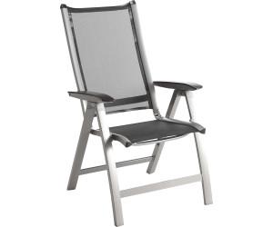 kettler forma multipositionssessel silber anthrazit 01270 000 ab 289 90 preisvergleich bei. Black Bedroom Furniture Sets. Home Design Ideas