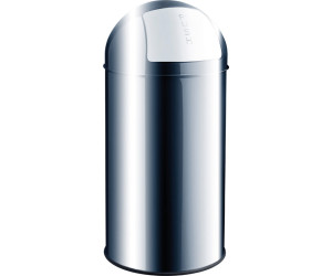 ee6d156059a7a Helit Metall-Abfallbehälter 30 L. Edelstahl. Günstigster Preis