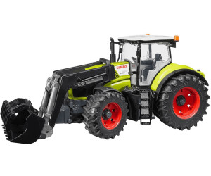 Bruder claas axion mit frontlader ab