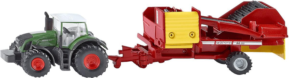 Siku Traktor mit Kartoffelroder (1808)