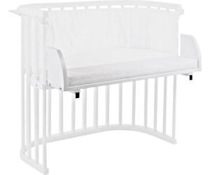 Babybay Bettverlängerung und Wandregal Original seidenmatt weiß