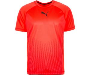 puma tshirt männer schwarz rot