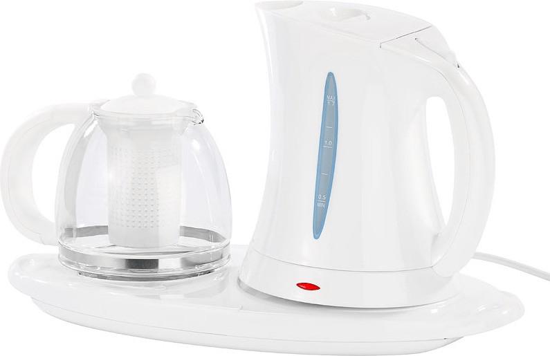 Callstel Wasserkocher WSK-150.set mit Teekanne ...