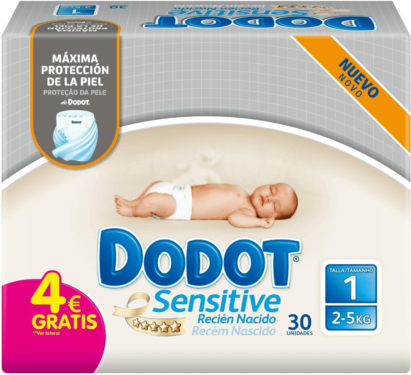 DODOT® protection plus sensitive pañales