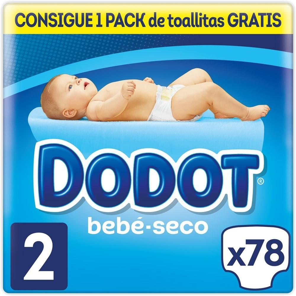 Dodot Bebé-Seco Gr. 2 (3-6 kg) 78 St.